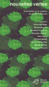 Nouvelles vertes - Couverture - Format classique