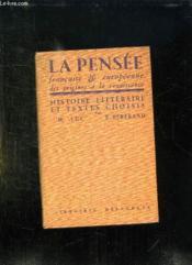 La Pensee Francaise Et Europeenne Des Origines A La Renaissance. - Couverture - Format classique