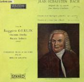 Disque Vinyle 33t Integrale Des 14 Concerti Pour Clavecin Et Orchestre. - Couverture - Format classique