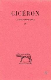 Correspondance t.4 - Couverture - Format classique
