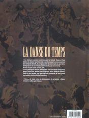 La Danse Du Temps T.1 ; Le Baiser Du Serpent - 4ème de couverture - Format classique