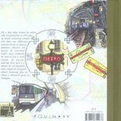 Carnet de paris en metro - 4ème de couverture - Format classique
