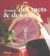 Accords Des Mets Et Des Vins - Intérieur - Format classique