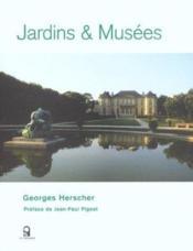 Jardins et musees - Couverture - Format classique