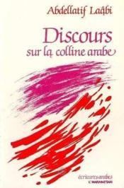 Discours Sur La Colline Arabe - Couverture - Format classique
