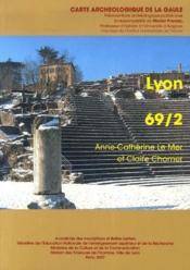 Carte Archeologique De La Gaule T.69/2 ; Lyon - Couverture - Format classique