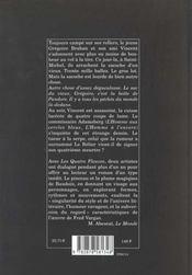 Les quatre fleuves - 4ème de couverture - Format classique