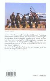 Pilotes de chasse - 4ème de couverture - Format classique