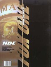 NDE Fox One - 4ème de couverture - Format classique