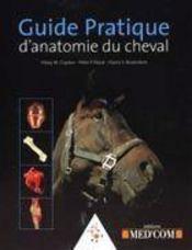 Guide pratique d'anatomie du cheval - Intérieur - Format classique