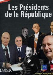 Les présidents de la république - Couverture - Format classique