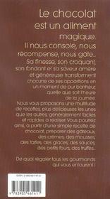 Chocolat - 4ème de couverture - Format classique