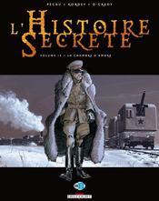 L'histoire secrète T.15 ; la chambre d'ambre - Couverture - Format classique