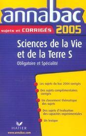 ANNABAC SUJETS & CORRIGES (édition 2005) - Intérieur - Format classique