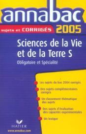 ANNABAC SUJETS & CORRIGES (édition 2005) - Couverture - Format classique