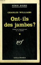 Ont-Ils Des Jambes ? ( Aground ). Collection : Serie Noire N° 659 - Couverture - Format classique