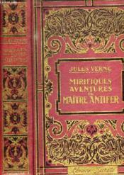 Mirifiques Aventures De Maitre Entifer - Couverture - Format classique