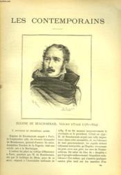 Les Contemporains N°304. Eugene De Beauharnais, Vice-Roi D'Italie. (1781-1824). - Couverture - Format classique