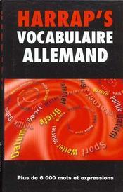 Vocabulaire Allemand - Intérieur - Format classique