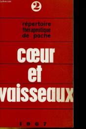 Repertoire Therapeutique De Poche - Coeur Et Vaisseaux - Couverture - Format classique