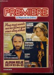 Premiere Album N°28 - 3 Numeros Introuvables - Album Relie Des N°83 - 84 - 85 - Couverture - Format classique