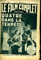 Le Film Complet Du Jeudi N° 1333 - 12e Annee - Quatre Dans La Tempete - Couverture - Format classique