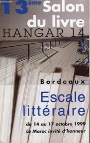 13 Eme Salon Du Livre Hangar 14 - Couverture - Format classique