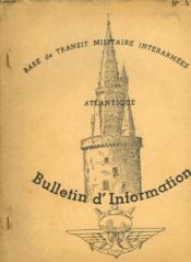 Bases De Transit Militaire Interarmees Atlantique - Billetin D'Information N°6 - Couverture - Format classique