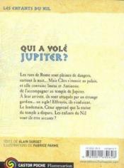 Les enfants du Nil T.5 ; qui a volé Jupiter ? - Couverture - Format classique