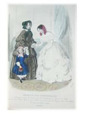 Magasin des Demoiselles. 7e Année 1850-1851 - Couverture - Format classique