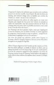 Les Yeux Du Touareg - 4ème de couverture - Format classique