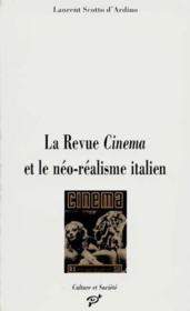 La revue Cinéma et le néo-réalisme italien - Couverture - Format classique