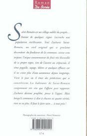 Vigne A Saint Romain (La) - 4ème de couverture - Format classique