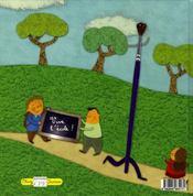 Les comptines de la petite école - 4ème de couverture - Format classique