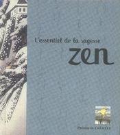 L'essentiel de la sagesse zen - Intérieur - Format classique
