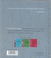L'essentiel de la sagesse zen - 4ème de couverture - Format classique