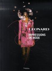 Léonard ; impressions de mode - Intérieur - Format classique