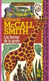 Les larmes de la girafe - Couverture - Format classique