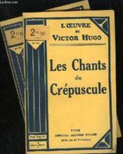 Les Chants Du Crepuscule - N° 60 Et 61 - Couverture - Format classique