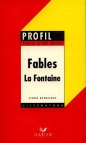 Fables de Jean de La Fontaine - Couverture - Format classique