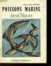 Atlas Des Poissons - Poissons Marins - Tome 1 - Couverture - Format classique