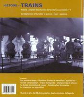 Histoires de trains - 4ème de couverture - Format classique