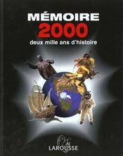 Memoire 2000 - Intérieur - Format classique