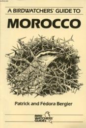 A Birdwatcher'S Guide To Morocco - Couverture - Format classique