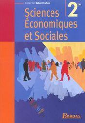 Sciences économiques et sociales 2nde (édition 2004) - Intérieur - Format classique