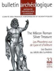 Bulletin archeologique n33 antiquite archeologie classique - Couverture - Format classique