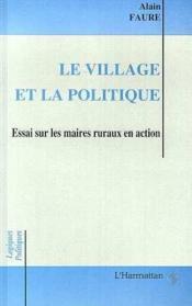 Village Et Politique - Couverture - Format classique