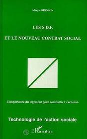 Les Sdf Et Le Nouveau Contrat Social - Intérieur - Format classique