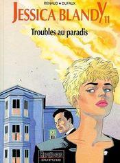 Jessica Blandy T.11; Troubles Au Paradis - Intérieur - Format classique