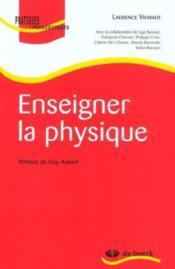 Enseigner la physique - Couverture - Format classique